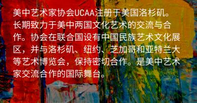 美中艺术交流使者苗广耀